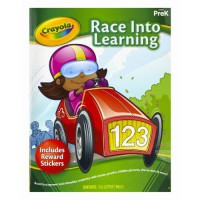 [holiczone] Crayola Early Learning Skill Workbook Race into Learning/1826884