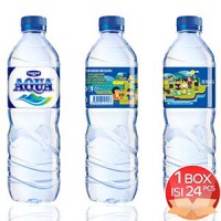 LIMITED SPECIAL! Aqua #temukanindonesiamu Mineral Water 600ml CARTON (24 Pcs)