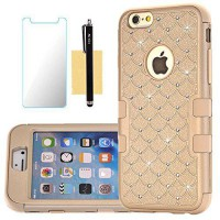 [macyskorea] iPhone 6S Bling Case,iPhone 6 Bling Case,HKW (TM) Bling Rhinestone 3 IN 1 Arm/15259724