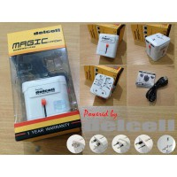 Magic Charger Worldwide Travel Max.2.1A by Delcell