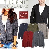 (Branded)Unisex Sweater Knit Cardigan by Express |Full Button|Sweater Pria | Cardigan Pria