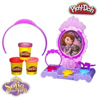 PDH110 Play Doh Sofia The First Amulet & Jewels Vanity Original Item