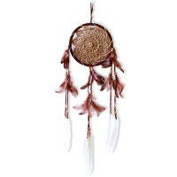 Prissilia Dream Catcher - Medium Brown
