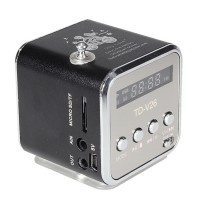 Speaker portable USB/MicroSD MP3 Player + Radio FM Mbox TD-V26