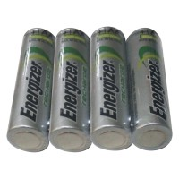 ENERGIZER - 4 Baterai Rechargeable AA NImH Up To 2000 mAh