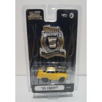 Maisto Muscle Machines 1/64 Chevy 1955 Yellow