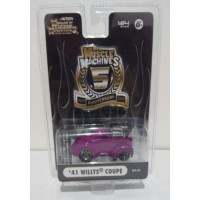 Maisto Muscle Machines 1/64 WILLYS COUPE 1941 Pink