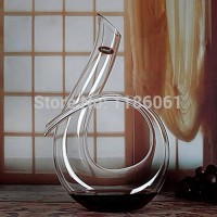 [globalbuy] New Handmade Crystal Red Wine Pourer Glass Decanter Brandy Decant Set Jug For /3582660