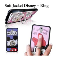 SOFT JACKET + RING STAND DISNEY & SANRIO for XIAOMI