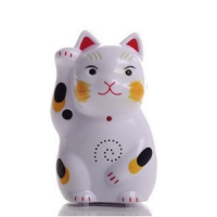 Fortune Lucky Cat Infrared Sensor Welcome Electronic Doorbell