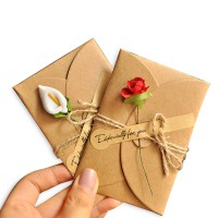 [FREE ONGKIR JABODETABEK] 3 Pack simple and natural Chinese lovely envelope(3 in all)