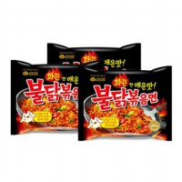 SAMYANG - HOT SPICY CHICKEN RAMEN BULDAK 3 PCS
