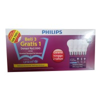 [Philips] Lampu LED 10,5 Watt Paket Hemat