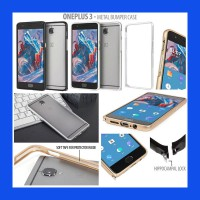 OnePlus Three Metal Bumper Case Casing Cover