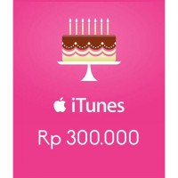 Itunes Gift Card Indonesia 300rb / IGC INDO 300K