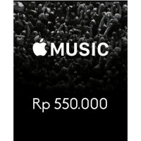 Itunes Gift Card Indonesia 550rb / IGC INDO 550K