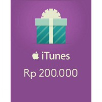 Itunes Gift Card Indonesia 200rb / IGC INDO 200K