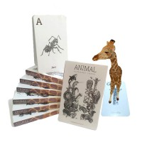 Kartu Edukasi 4D (Animal/Dinosaurus/Occupation) | Edukasi Flashcard | Baca Deskripsi |