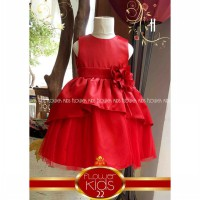 Dress Anak Flower Kids Layered 2-7Y | PDR300