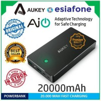 [esiafone top powerbank] AUKEY 20000mah Dual Ports 2.4A Power Bank with AIPOWER Tech (Original)