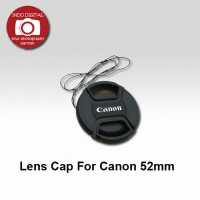Lens Cap For Canon 52mm
