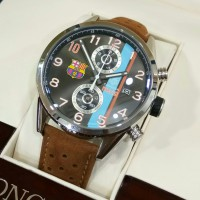 Tag Heuer co:1817 Messi Barca Brown Silver