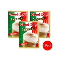 Good Day Cappuccino with Coklat Granule Kopi Sachet 10x25gr (1 Renceng)