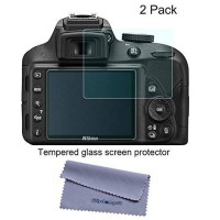 [worldbuyer] Screen Protector, Wisdompro 2 Pack Tempered Glass Screen Protectors for Digit/466581