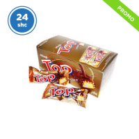 Delfi Top Wafer Cokelat - 9gr isi 24pcs