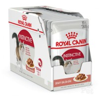 Royal Canin Instinctive Adult in Gravy Pouch (12x85gr)