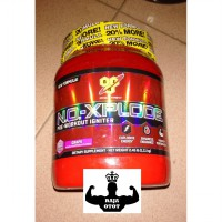 BSN N.O.-XPLODE 60 Servings (NO Xplode) Pre Workout, Suplemen Fitness