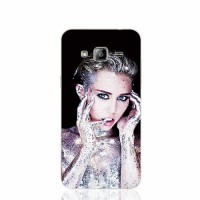 [globalbuy] 17271 Miley Cyrus glitter Signature cell phone case cover for Samsung Galaxy J/3491159
