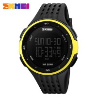 SKMEI Jam Tangan Digital - DG1219 - Black/Yellow