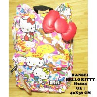Ransel Hello Kitty Dewasa H2824 Import Sanrio License