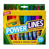 CRAYOLA 10ct Powerlines 588194