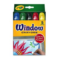 CRAYOLA 5ct Window Crayons 529765