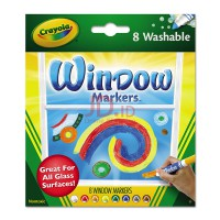 CRAYOLA Washable Window FX Art Marker 588165