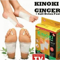 (5PCS)Kinoki Gold atau ginger foot patch
