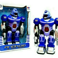 Mainan Robot Android Light N Sound