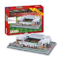 3D Puzzle of Old Trafford Stadium - Manchester United