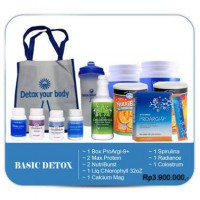 DETOX YOUR BODY (PAKET BASIC)