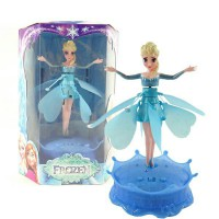 Flying Elsa - Boneka Elsa Frozen Sensor Tangan - Light and Music
