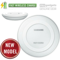 Genuine Samsung Wireless Charger for Galaxy S6/S6 Edge, Edge+, Note5 Fast Wireless Charging Pad