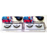 [poledit] Ardell Spiky Lashes with Attitude-389 Black, 2 Pack (T1)/14250849