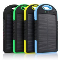Powerbank Solar 99000 mAh universal for smartphone | free bumper case | Portable Power Bank