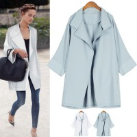 Through the Summer~ Collar Loose-fit Classic Jacket
