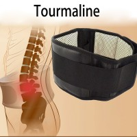 Tourmaline Alat Therapy Pinggang Magnetic Size L - Black
