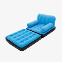 Bestway Sofa Bed 2 in 1 Single - Sofa Multifungsi - 67277 - Cool Blue