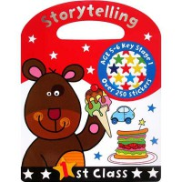 [HelloPandaBooks] Storytelling 1st Class with over 250 stickers (Age 5-6y)