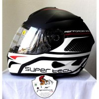 (Full Face) ZEUS Helm ZS806 Pattern ZS-806 Import ZS 806 Fullface Double Visor